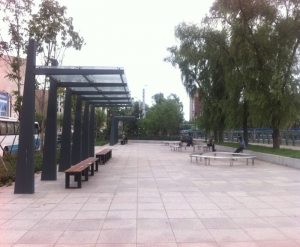 三溪一河工程-单臂廊架