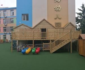幼儿园木屋