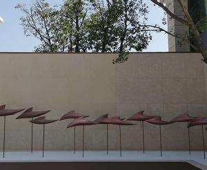远洋-鱼群雕塑