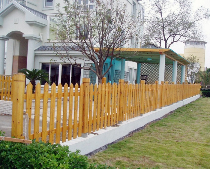 防腐木护栏维修