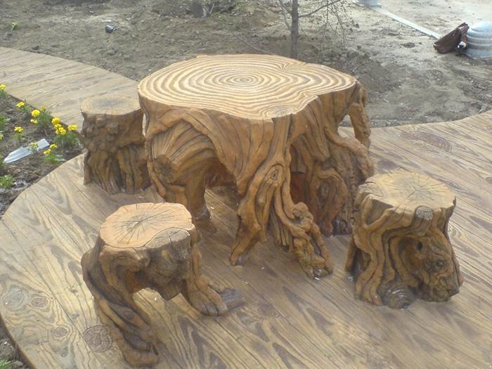 大连仿木树墩