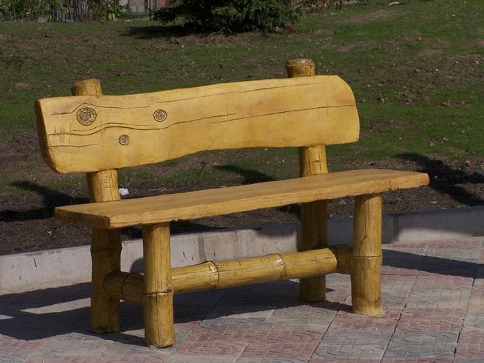 大连仿木座椅