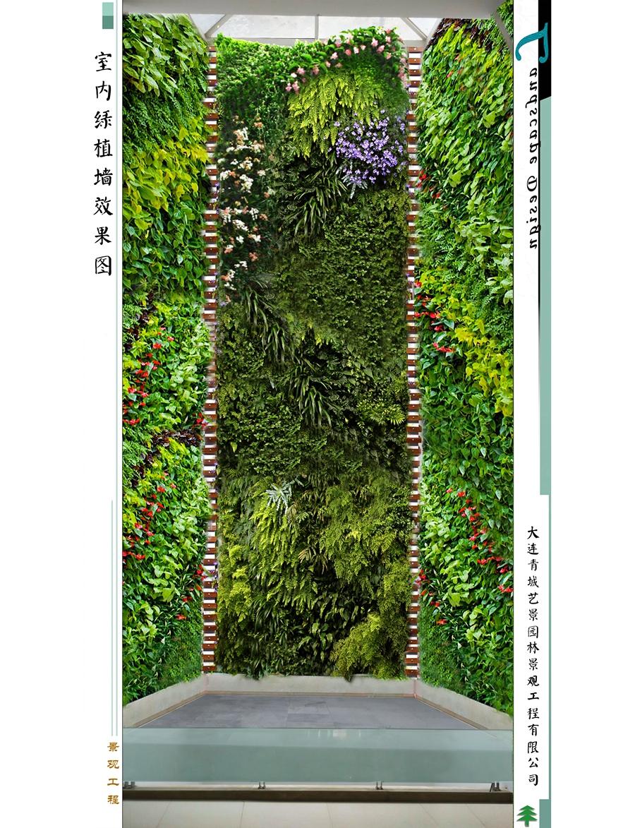 昌都室内绿植墙