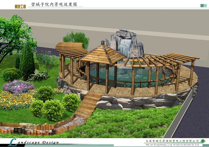 大连庭院别墅装修设计施工