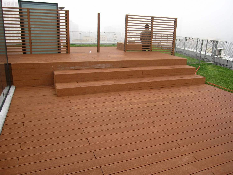 防腐木地板铺装制作