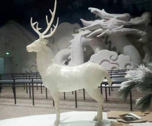 透明树脂雕塑制作