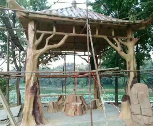 仿木生态亭