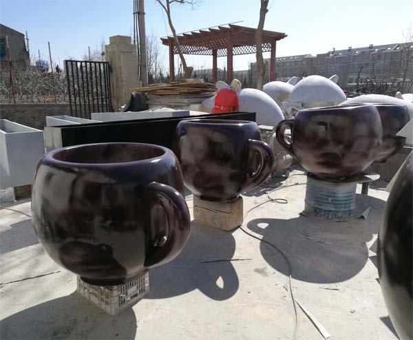 玻璃钢咖啡杯