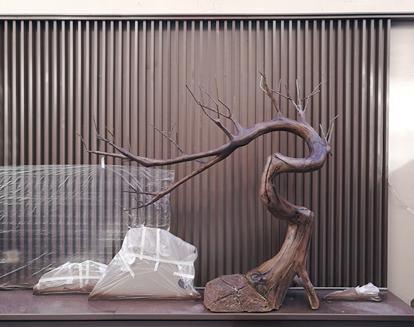 仿木假树枝