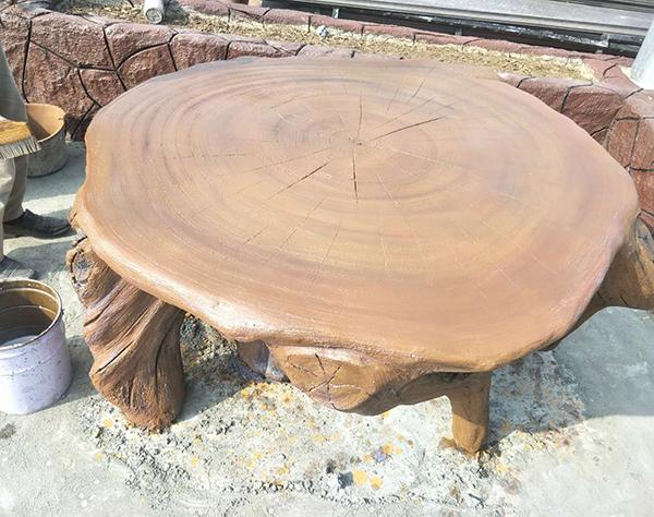 大连水泥仿木桌椅