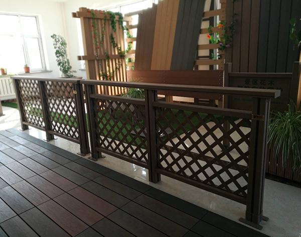大连塑木网格护栏加工厂