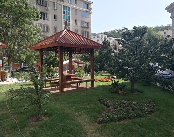 庄河庭院景观绿化