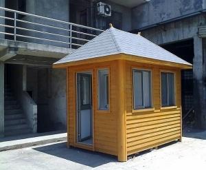 木屋门卫房