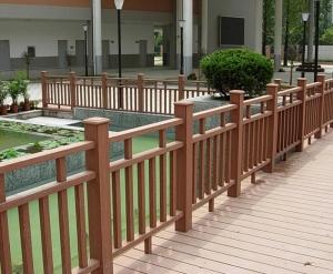 塑木围栏护栏