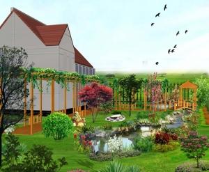 大连现代庭院景观
