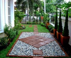 大连新式庭院景观