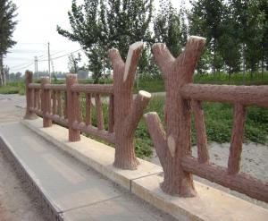 大连仿木护栏