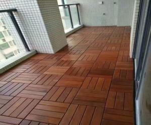 花园木地板
