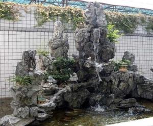 阜新大连假山鱼池