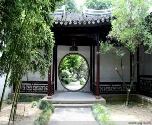 营口古典庭院
