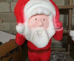 圣诞老人雕塑