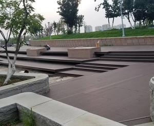 塑木地板铺装工程