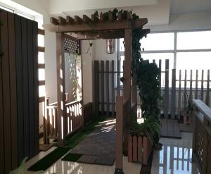 大连塑木廊架