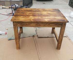 大连防腐木方桌