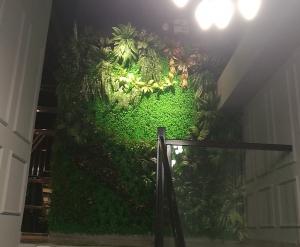 大连仿真植物墙