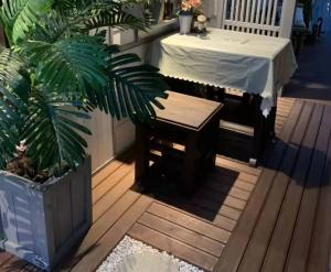大连阳台木地板