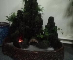 大连室内假山流水