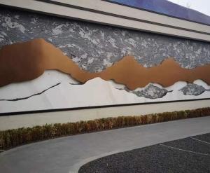 大连景观墙