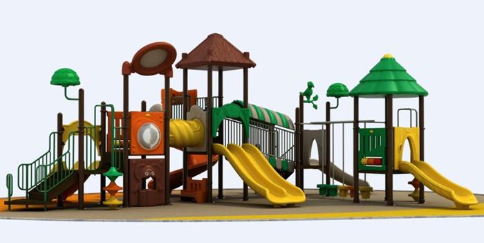 秋千,平衡木,体操垫,投篮架,儿童组合滑梯,攀爬设施,幼儿园地面,幼儿
